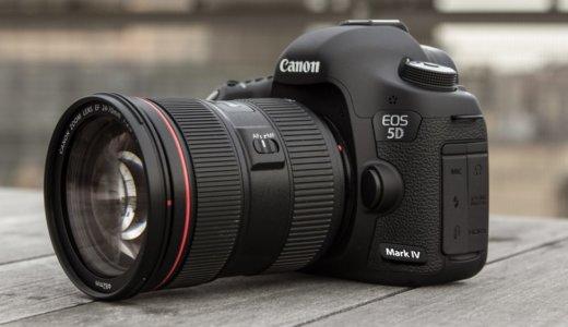 【発表前比較】EOS 6D Mark ⅡとEOS 5D Mark Ⅳ