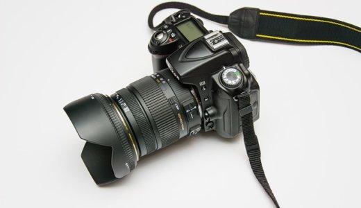 一眼レフカメラの重量は?カメラの重さを身近なモノと比較!