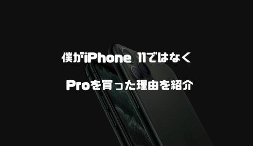 僕がiPhone 11ではなくProを買った理由を紹介!高いけどトリプルカメラが魅力【iPhone11Pro】